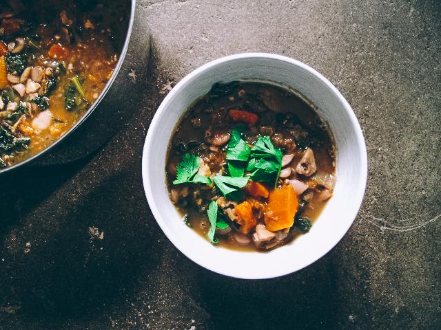 Mushroom, Butternut + Butter BeanStew